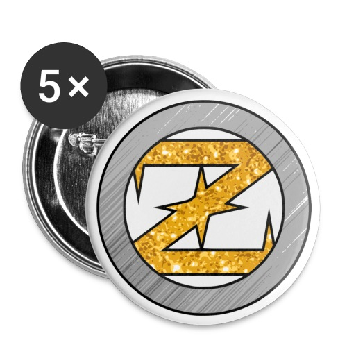 OZ Buttons (Gold/Silver) - Small Buttons
