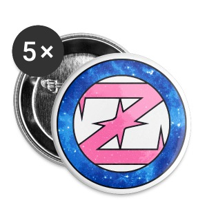 OZ Buttons (Blue/Pink) - Small Buttons