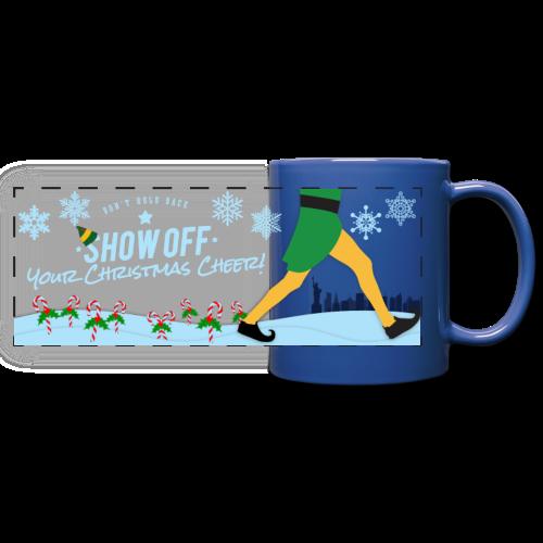 Coffee Mug, Christmas Cheer - Full Color Panoramic Mug