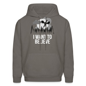I Want To Believe... In Dragons! - Men's Hoodie