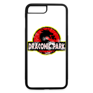 Draconic Park iPhone 7 Plus Rubber Case - iPhone 7 Plus/8 Plus Rubber Case
