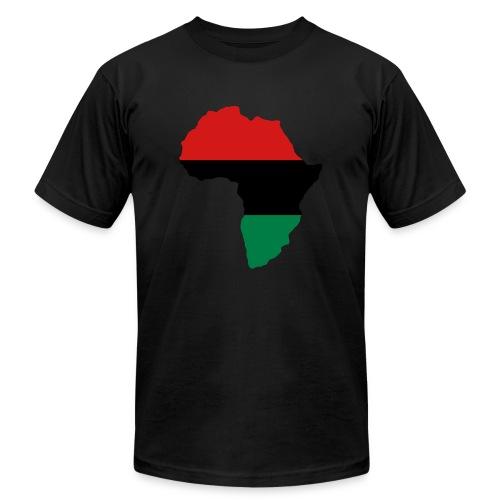 New Age Revolutionary Shirt Pan African - Men's Fine Jersey T-Shirt