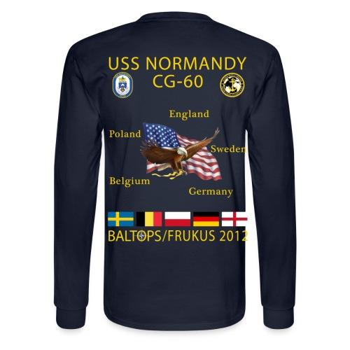 USS NORMANDY BALTOPS/FRUKUS 2012 LONG SLEEVE - Men's Long Sleeve T-Shirt