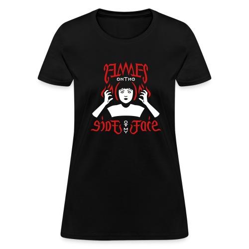 Flames Face women's T-shirt - Women's T-Shirt