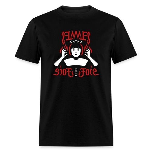 Flames Face men's T-shirt - Men's T-Shirt