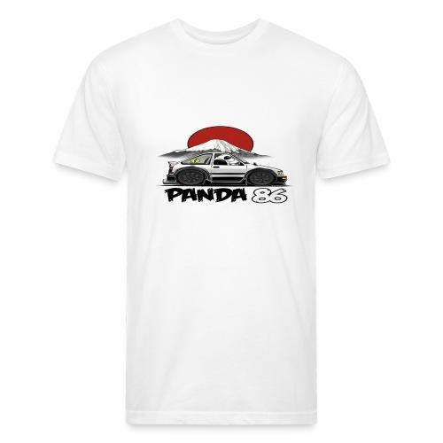 Panda Panda Panda - Fitted Cotton/Poly T-Shirt by Next Level
