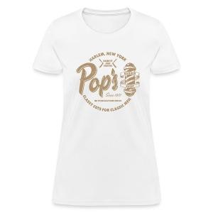 Pop's Barber (aged look) - Women's T-Shirt