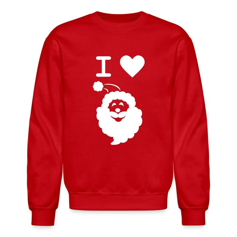 I LOVE SANTA - Crewneck Sweatshirt
