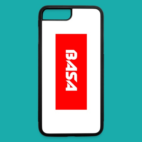 IPhone 7 Plus BASA box logo case - iPhone 7 Plus/8 Plus Rubber Case