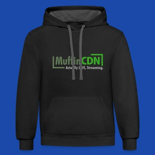 MuffinCDN Sweatshirt - Contrast Hoodie