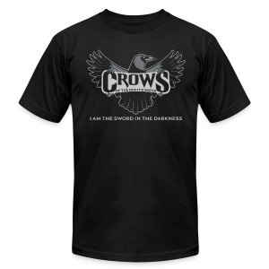 Crows of the Night's Watch - Men's T-Shirt by American Apparel
