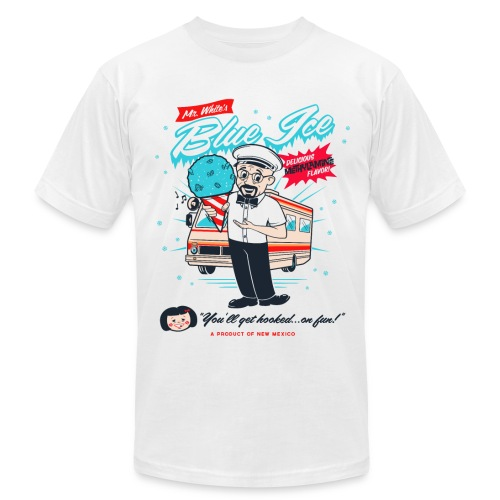 Mr. White's Blue Ice - Men's  Jersey T-Shirt