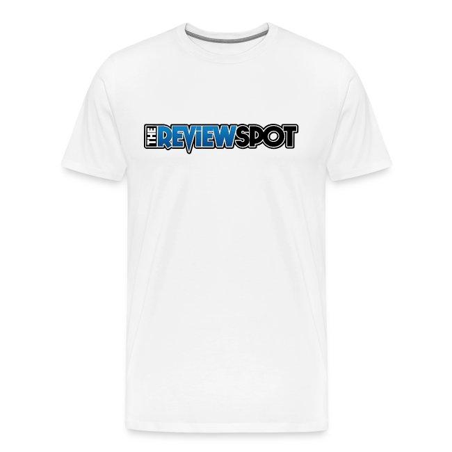 Review Spot Font White T-Shirt