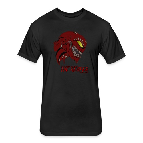 Cotton Men's T-Shirt (THE REAPER) - Fitted Cotton/Poly T-Shirt by Next Level