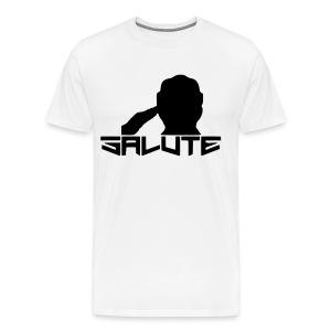 Salute-Me White&Black - Men's Premium T-Shirt