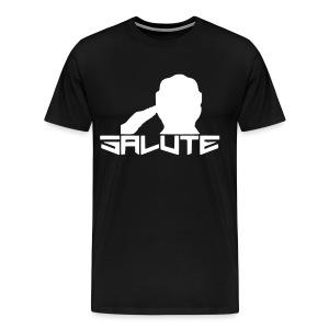 Salute-Me Black&White - Men's Premium T-Shirt