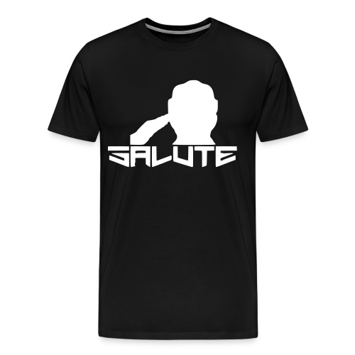 Salute-Me Black&White - Men's Premium T-Shirt