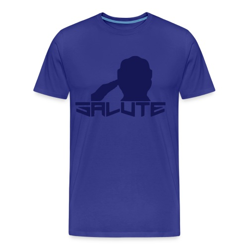 Salute-Me Blue&Blue - Men's Premium T-Shirt
