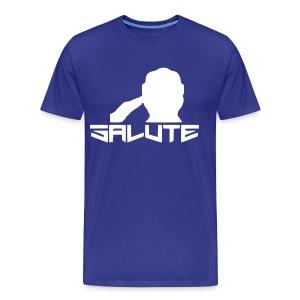 Salute-Me Blue&White - Men's Premium T-Shirt
