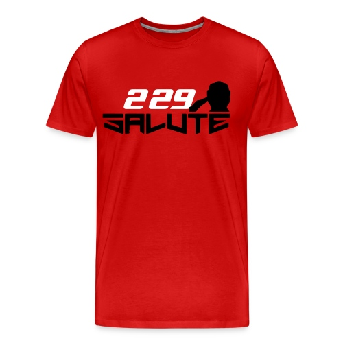 229Salute-Red - Men's Premium T-Shirt