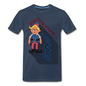 Hermey the Hipster Elf - Men's Premium T-Shirt