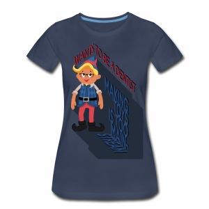 Hermey the Hipster Elf - Women's Premium T-Shirt