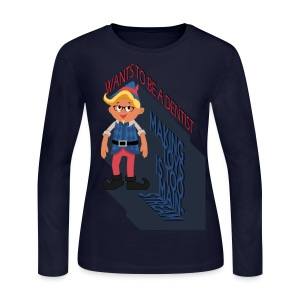 Hermey the Hipster Elf - Women's Long Sleeve Jersey T-Shirt