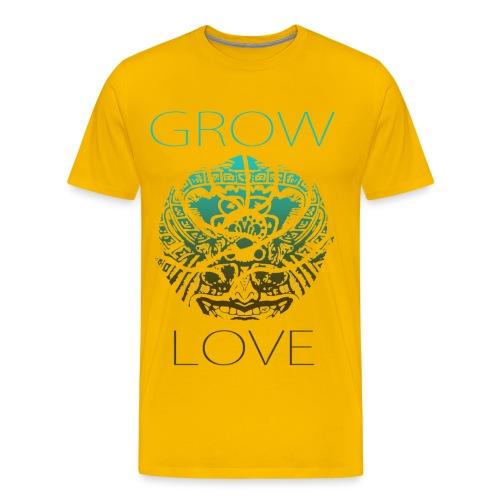 Grow Love 1 - Men's Premium T-Shirt