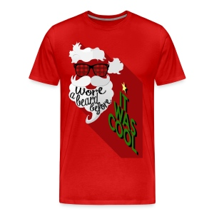 The Hipster Santa's Beard - Men's Premium T-Shirt