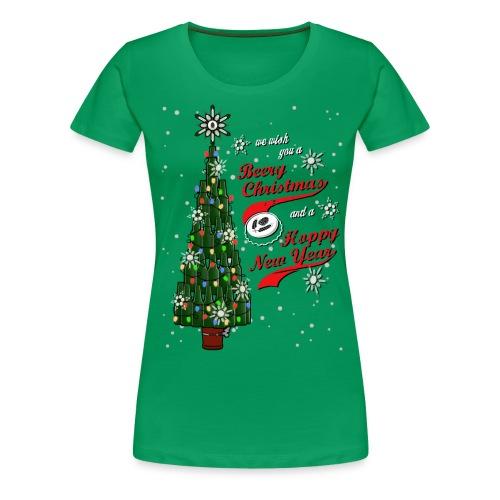Beery Christmas Tree - Women's Premium T-Shirt