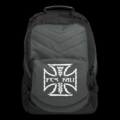 FCS Kali West Coast Charcoal Computer Backpack - Computer Backpack
