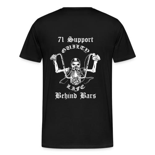 Big Sizes - Behind Bars - Men's Premium T-Shirt