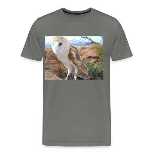Barn Owl - Men's Premium T-Shirt
