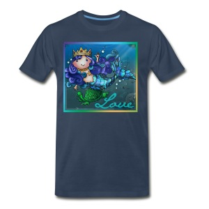 Little Mermaid shirt - Men's Premium T-Shirt
