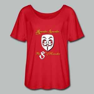 ...the 8th of November - Women's Flowy T-Shirt