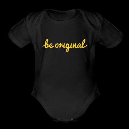 Be Original Onesie (Short Sleeve) - Short Sleeve Baby Bodysuit