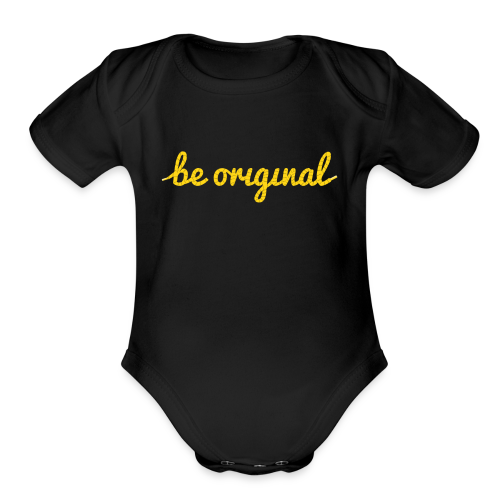Be Original Onesie (Short Sleeve) - Short Sleeve Baby Bodysuit