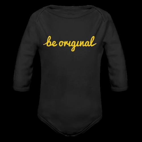 Be Original Onesie - Long Sleeve Baby Bodysuit