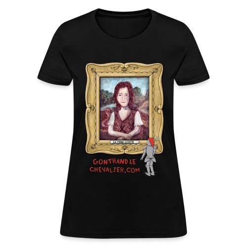 T-shirt pour femmes «La Mona Lisette» - T-shirt pour femmes