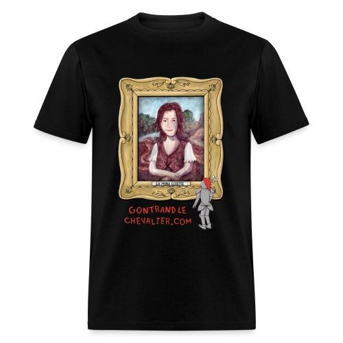 T-shirt pour hommes «La Mona Lisette» - Men's T-Shirt