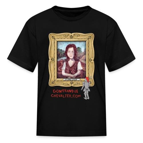 T-shirt pour enfants «La Mona Lisette» - T-shirt classique pour enfants