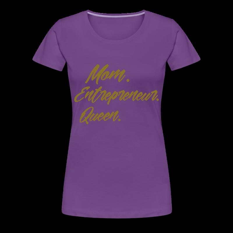 MOMx3 - Women's Premium T-Shirt