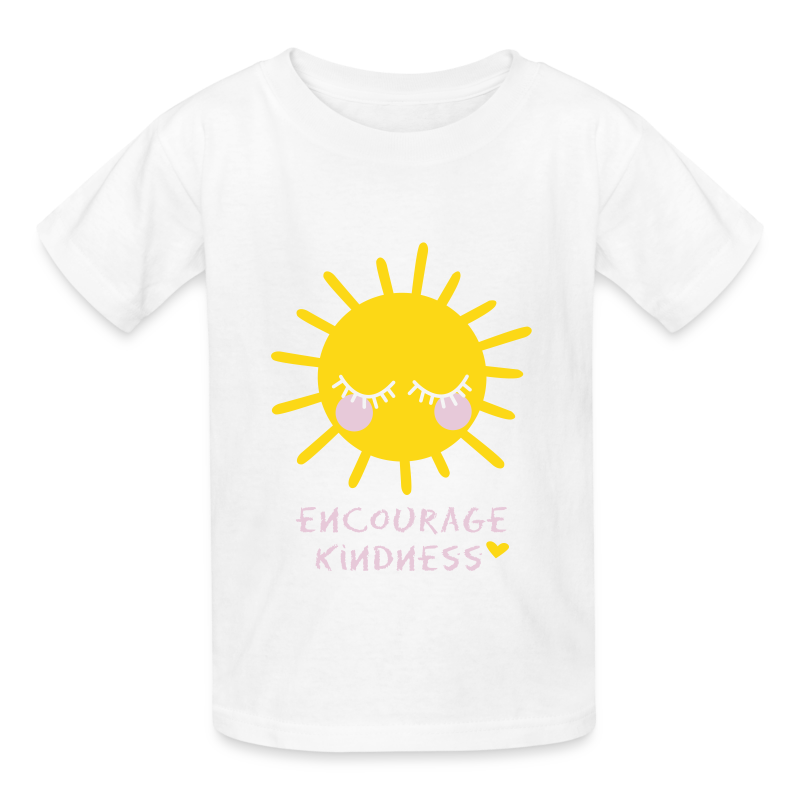 Encourage Kindness with Sun - Kids' T-Shirt