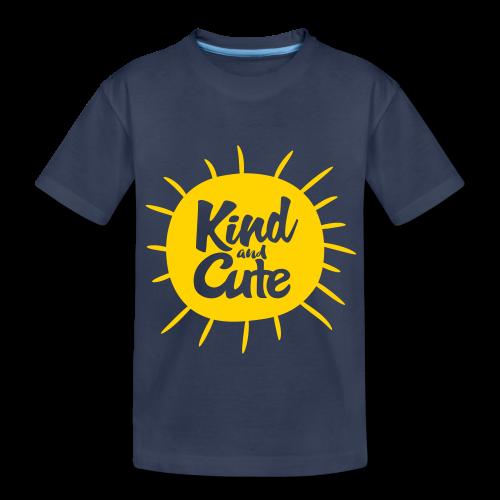Kind and Cute - Kids' Premium T-Shirt