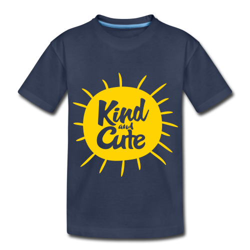 Kind and Cute - Kids' Premium T-Shirt
