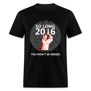 So Long 2016 - Men's T-Shirt