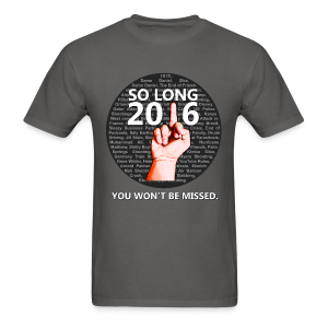 So Long, 2016 - Men's T-Shirt
