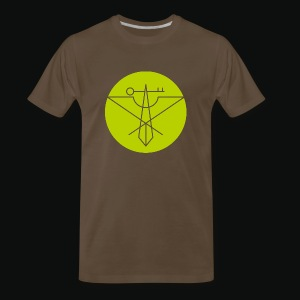 Light Green Avian Crux Logo - Men's Premium T-Shirt