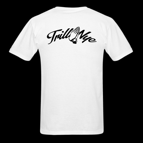 Trill Nye Face White Tee - Men's T-Shirt