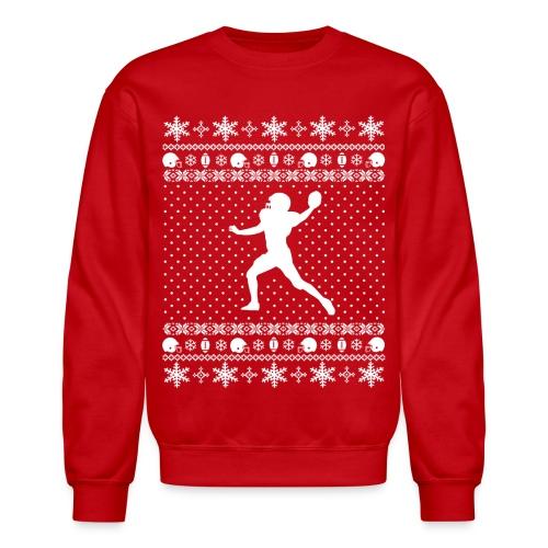 Ugly Football Xmas Sweater - Crewneck Sweatshirt